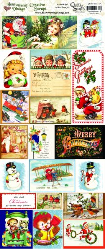 Crafty Secrets Heartwarming Vintage Creative Scraps Merry Christmas