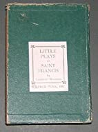 Little Plays of Saint Francis Complete…