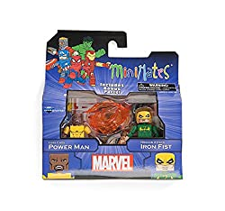 Marvel Minimates Greatest Hits Wave 2 Power Man & Iron Fist 2 Pack