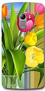 SEI HEI KI Designer Back Cover For Lenovo Vibe K4 Note - Multicolor