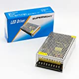 SUPERNIGHT (TM) DC 12V 20A Regulated Switching Power Supply AC 110-240V
