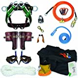 Epic Peak Light Weight Climbing Pro Belaying Glasses Goggles With Epic Peak Decal, Neck Strap, and Case