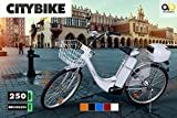Elektro Fahrrad City Bike E-Bike 36V Elektroantrieb 250W Elektrobike weiß