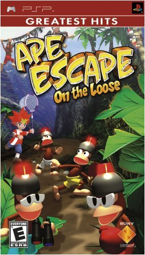 Sony Ape Escape On The Loose Psp