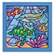 Melissa & Doug Peel and Press Stained Glass Undersea Fantasy