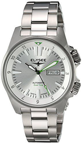 Elysee reloj hombre Executive Dual Timer automática 87000