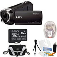 Sony HDR-CX240/B Entry Level Full HD 60p Camcorder Black Kit by Sony