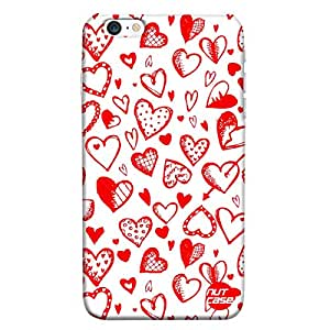 Hearts Everywhere- Nutcase Designer iPhone 6 Case Cover