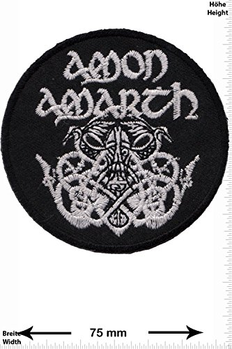 Patch - Amon Amarth - Melodic-Death-Metal - MusicPatch - Rock - Chaleco - toppa - applicazione - Ricamato termo-adesivo - Give Away