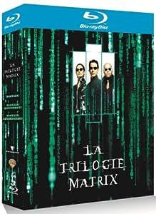 Coffret Matrix La trilogie 3 Blu-Ray : Matrix + Matrix Reloaded + Matrix Revolutions