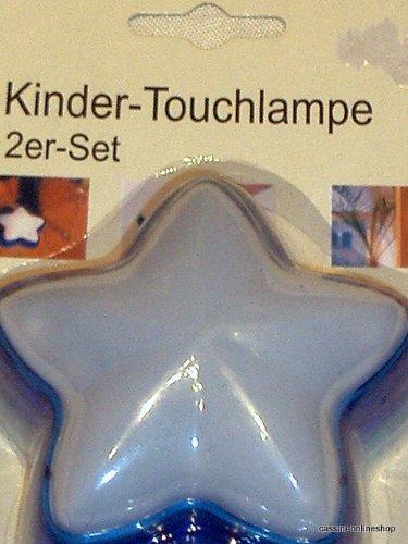 Kinder-Touchlampe Stern 2er-Set