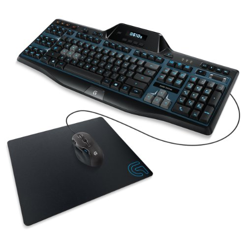 Logitech G Series Gaming Keyboard, Mouse And Mouse Pad