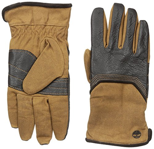 Timberland Men's Wax Canvas and Deerskin Glove, Brown, X-Large (Wax Canvas compare prices)