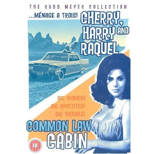 Cherry, Harry & Raquel! / Common Law Cabin ( Megavixens / Three Ways to Love ) ( Big Six / Conjugal Cabin ) [ NON-USA FORMAT, PAL, Reg.0 Import - United Kingdom ]