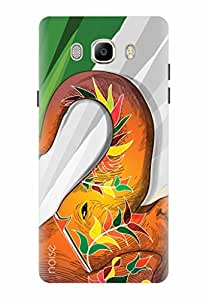 Noise Designer Printed Case / Cover for Samsung Galaxy J7 - 6 (New 2016 Edition) / Nature / Ethinic Elephant Design