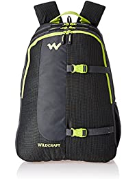 Wildcraft Polyester 36 Ltrs Black School Backpack (WC 4 Latlong 4)