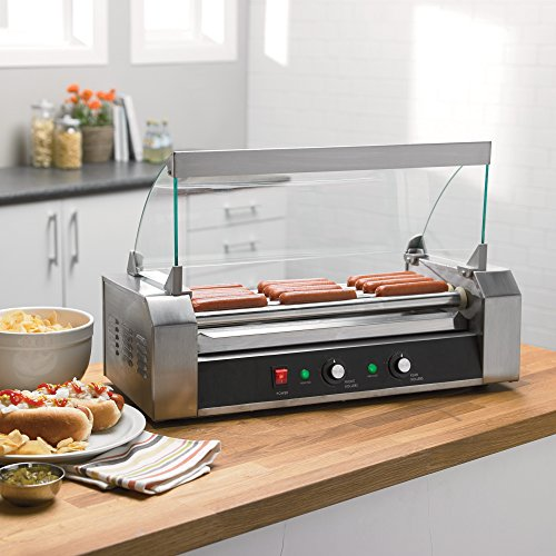 Hot Dog Roller - 12 Hot Dog Capacity (Hot Dog Links compare prices)