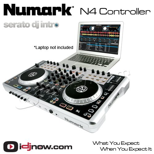buy best numark n4 4 deck digital dj controller and mixer lanjasa 39 s diary. Black Bedroom Furniture Sets. Home Design Ideas
