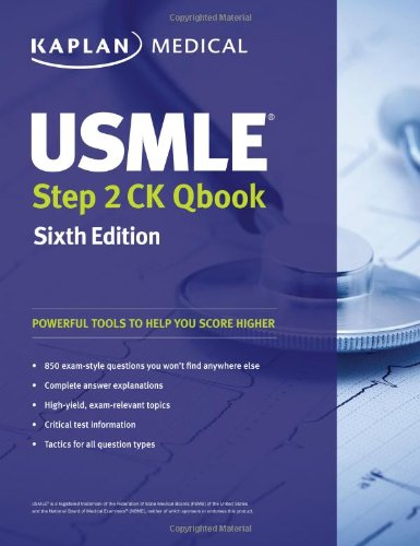 Usmle Step 2 Ck Qbook (Usmle Prep) back-606434