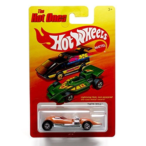 TWIN MILL (BRONZE) * The Hot Ones * 2011 Release of the 80's Classic Series - 1:64 Scale Throw Back HOT WHEELS Die-Cast Vehicle