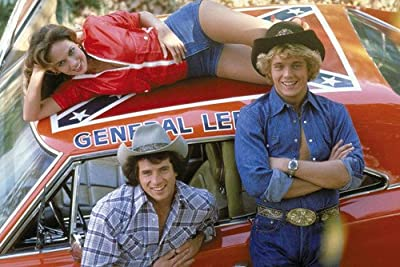 Catherine Bach General Lee The Dukes Of Hazzard Poster