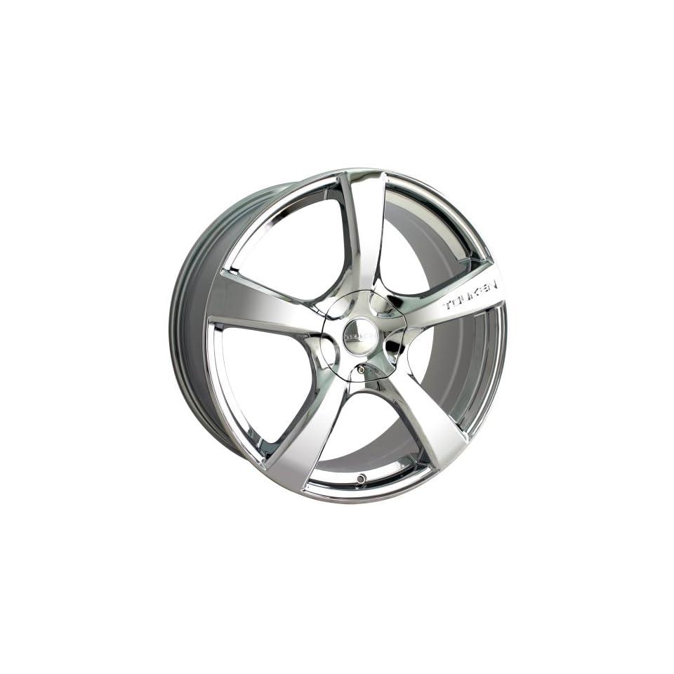 Chrome) Wheels/Rims 4x100/114.3 (3190 7701C)    Automotive