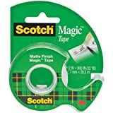 Scotch Magic Tape with Dispenser, 1/2 x 800 Inches (119)
