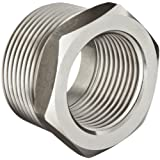 Stainless Steel 304 Pipe Fitting, Hex Head Bushing, Class 1000, NPT Male X NPT Female