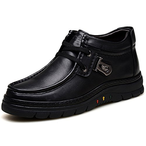 camelactive-mens-outdoor-high-top-leather-shoes-schneestiefel-black-44