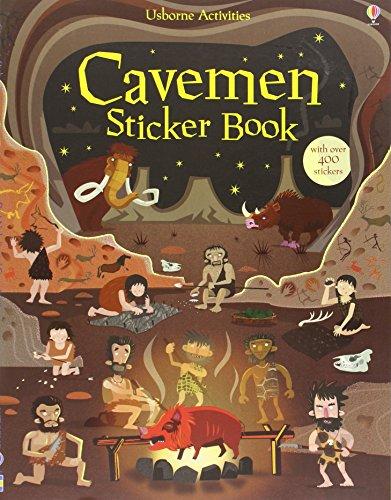 Cavemen Sticker Book (Young History Sticker Books)