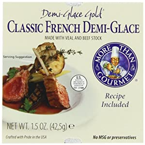 More Than Gourmet Classic French Demi-Glace, 1.5-Ounces (Pack of 6)