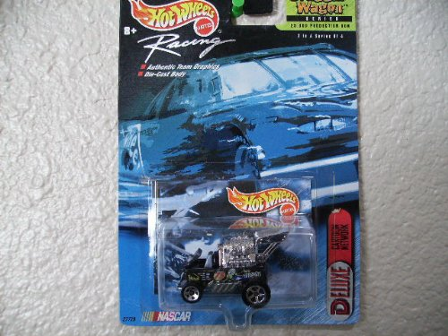 Hot Wheels Draggin' Wagon 2000 Nascar Racing #2 #75 Cartoon Network - 1