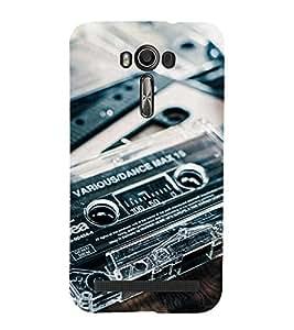 Cassttee Back Case Cover for Asus Zenfone 2 Laser ZE550KL::Asus Zenfone 2 Laser ZE550KL (5.5 Inches)