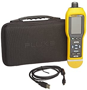 Fluke 805 Vibration Meter with Large High Resolution Screen, 1000 Hz Frequency, 500g peak Vibration Limit