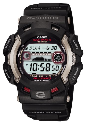 CASIO G-SHOCK GULFMAN Tough Solar Radio Controlled MULTIBAND6 GW-9110-1JF (Japan Import) casio g shock gulfmaster tough mvt multi band 6 gwn 1000e 8ajf men s japan model