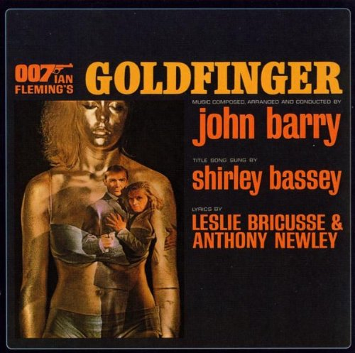 Original album cover of Goldfinger (Original Motion Picture Soundtrack) by James Bond - OST