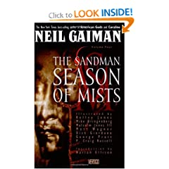 The Sandman; vol. 4: Season of Mists by Neil Gaiman, Kelley Jones, Mike Dringenberg and Malcolm Jones III