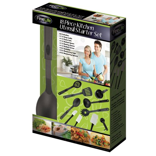 18 Pc Kitchen Set