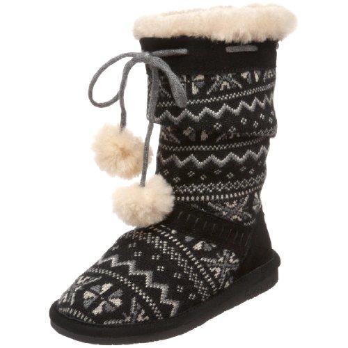 Bearpaw Donner Knit Print Boot (Toddler/Little Kid/Big Kid)