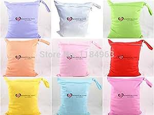 Amazon.com : Free Shipping Colorful Bolsa Maternidade Baby Bag Wet Dry