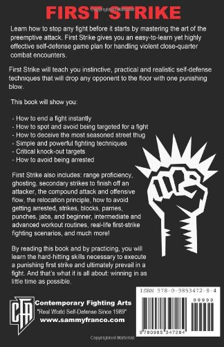 First Strike: End a Fight in Ten Seconds or Less!
