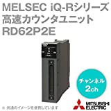三菱電機 RD62P2E 高速カウンタユニット (2チャンネル) (計数速度: 200/100/10kpps) (40ピンコネクタ接続) (トランジスタ ソース出力) NN
