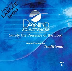 Surely The Presence Of The Lord Is In This Place [Accompaniment/Performance Track]