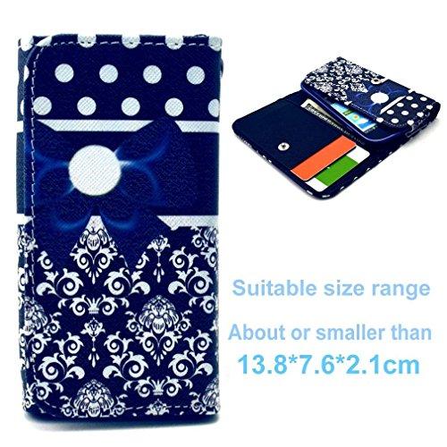 (3#T) Portemonnaie PU-Leder Multipurpose