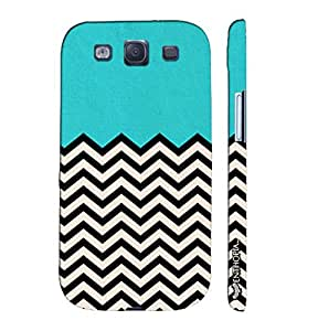 Samsung Galaxy S3 Neo Old School Waves designer mobile hard shell case by Enthopia
