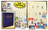 U.S. Stamp Collecting Starter Kit - Includes Album and Free Stamps