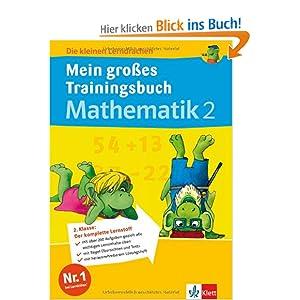 eBook Cover für  Die kleinen Lerndrachen Mein gro 223 es Trainingsbuch Mathematik 2 Klasse Trainingsbuch mit separatem L xF6 sungsheft