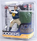 NFL Green Bay Packers McFarlane 2011 Series 27 Aaron Rodgers Throwback Action Figure at Amazon.com
