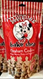Disney Parks Minnie's Bake Shop Graham Cookies (7 oz) - Disney Parks Exclusive & Limited Availability (To ensure fresh product orders are fulfilled as received and subject to availability after order is placed)