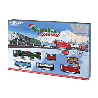 Bachmann Santa Special HO Scale Ready To Run Electric Train Set